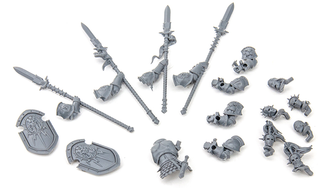 Warhammer Age of Sigmar Dominion Review - Modelle - Stormcast Extra Parts A