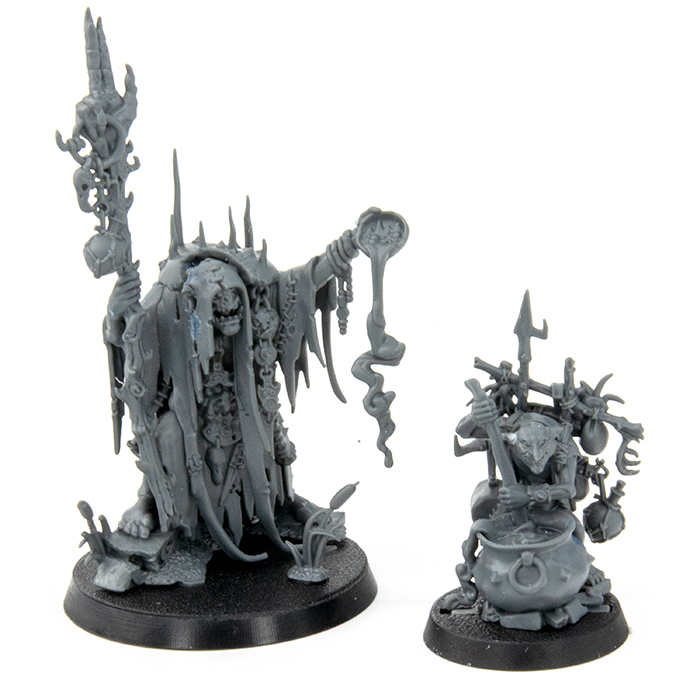 Warhammer Age of Sigmar Dominion Review - Modelle - Swampcalla Shaman