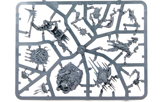 Warhammer Age of Sigmar Dominion Review - Sprue D