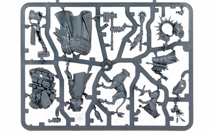 Warhammer Age of Sigmar Dominion Review - Sprue E