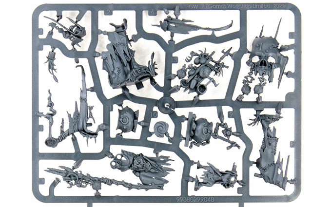 Warhammer Age of Sigmar Dominion Review - Sprue F