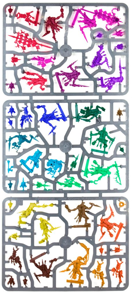 Warhammer Age of Sigmar Dominion Review - Sprue H Colored
