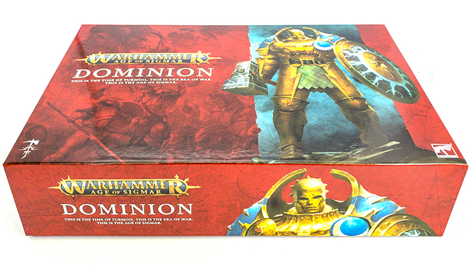 Warhammer Age of Sigmar Dominion Review - Unboxing - Box