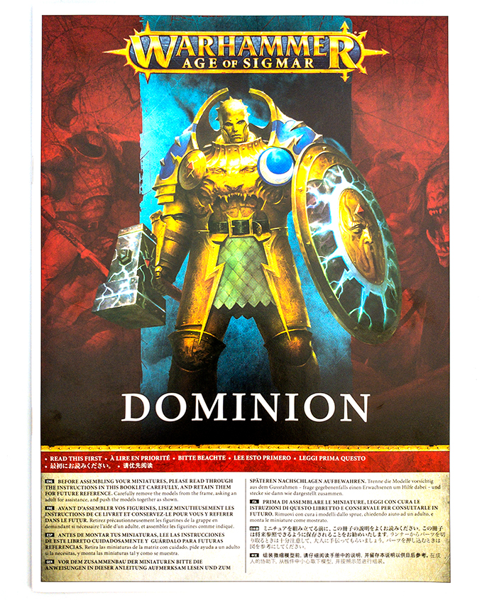 Warhammer Age of Sigmar Dominion Review – Unboxing – Bauanleitung