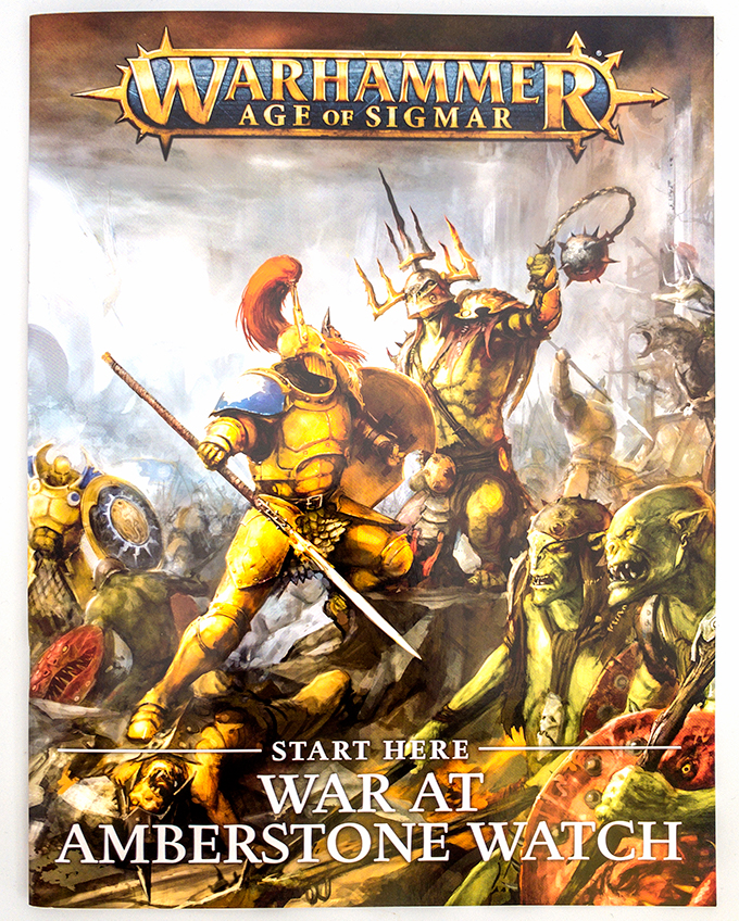 Warhammer Age of Sigmar Dominion Review – Unboxing – War at Amberstone Watch