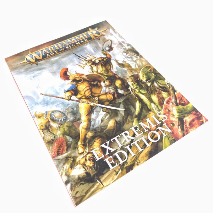 Warhammer Age of Sigmar Extremis Starter Set Book