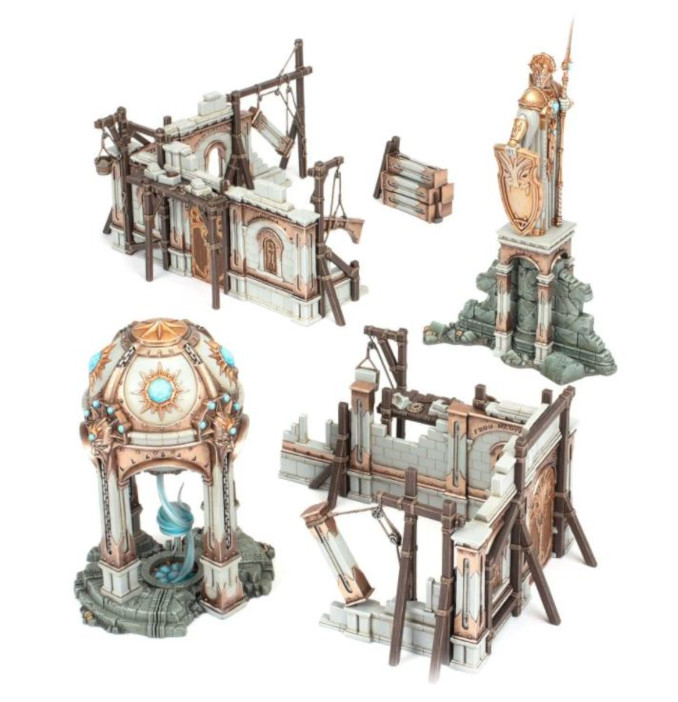 Warhammer Age of Sigmar Extremis Starter Set GW Scenery Preview