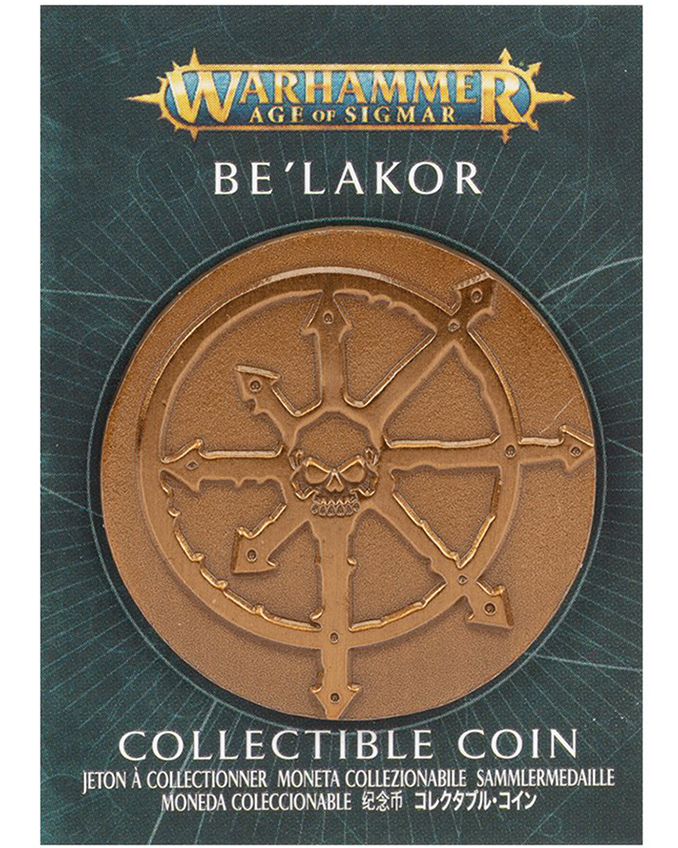 Warhammer Store Collector Coins April 2021 Collector Coin - Be'lakor
