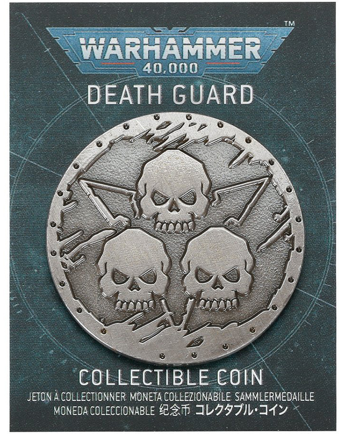 Warhammer Store Collector Coins December 2020 Collector Coin - Death Guard