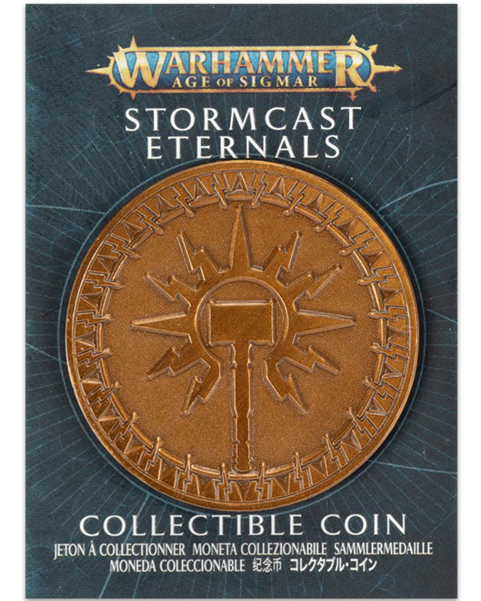 Warhammer Store Collector Coins July 2021 Collector Coin - Stormcast Eternals