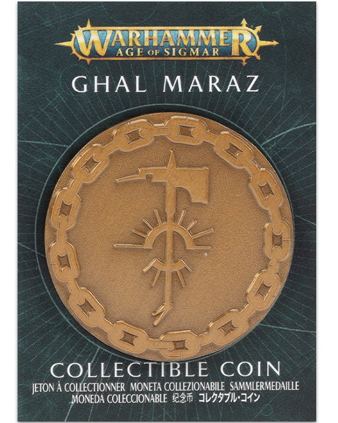 Warhammer Store Collector Coins May 2021 Collector Coin - Ghal Maraz