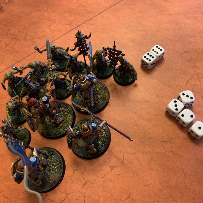 Age of Sigmar Extremis Battleplan 5 - 12