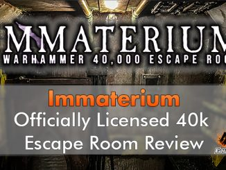 Immaterium - Warhmmer 40k Escape Room - Featured