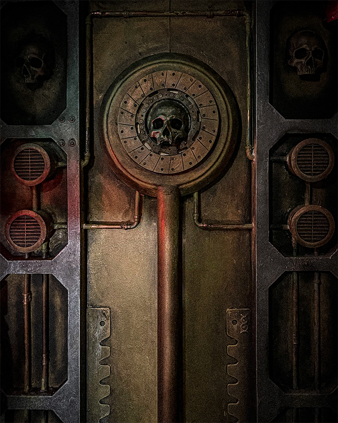 Immaterium - Warhmmer 40k Escape Room - Wall