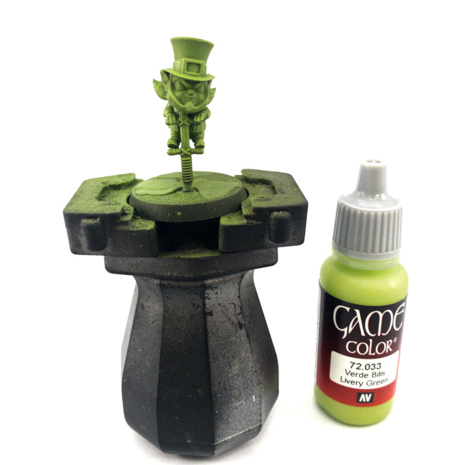 Vallejo Game Color Review Leprechaun Drybrushed 1