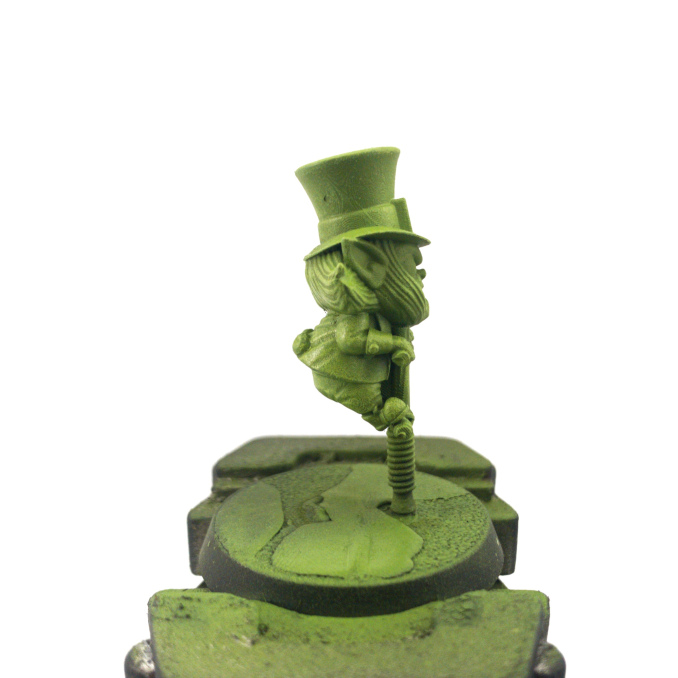 Vallejo Game Color Review Leprechaun Drybrushed 2