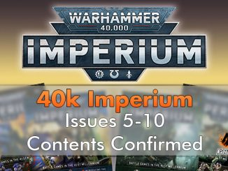 Warhammer Imperium Contents Issues 6-10 - Featured