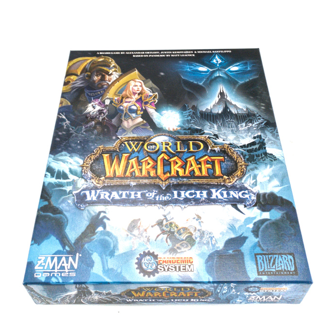 Z-Man Games World of Warcraft Wrath of the Lich King Game Unboxing 1