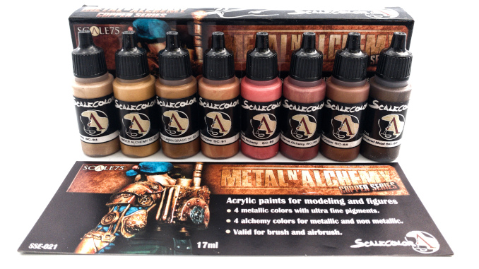 Scalecolour Metal N' Alchemy Coppers