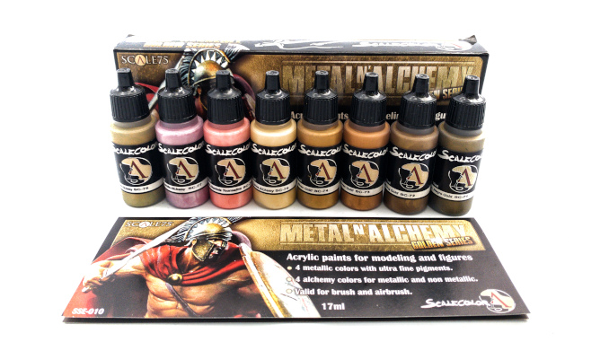 Scalecolour Metal N' Alchemy Golds