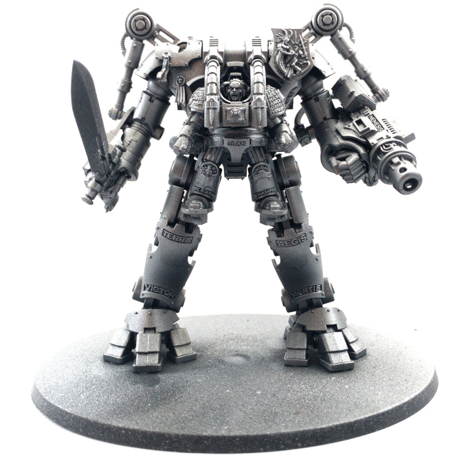 Scalecolour Metal N' Alchemy Nemesis Dreadknight Airbrushed