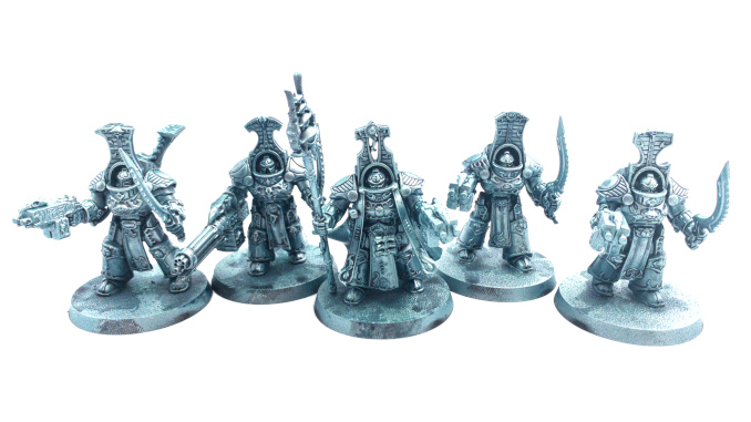 Scalecolour Metal N' Alchemy Scarab Occult Terminators Drybrushed