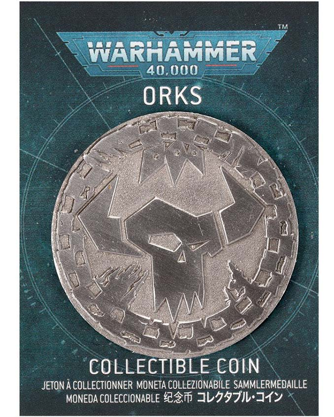 Warhammer Store Collector Coins September 2021 Collector Coin - Ork