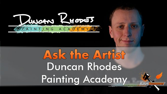 Duncan Rhodes - Ask The Artist - Featured