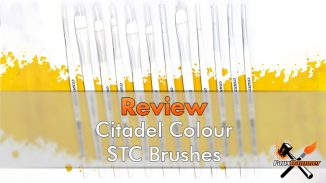 Citadel Colour STC Brushes Review - Featured