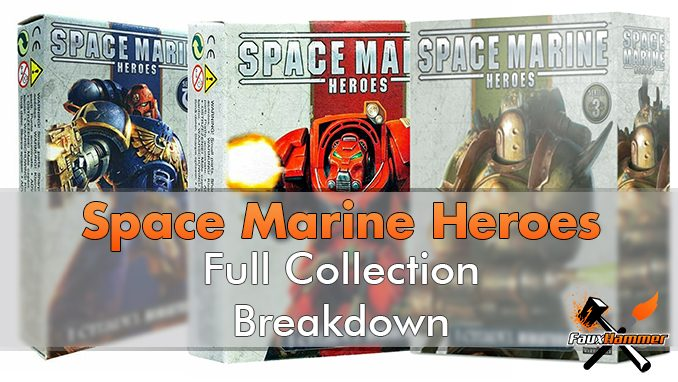 Space Marine Heroes - Full Collection Breakdown - Featured