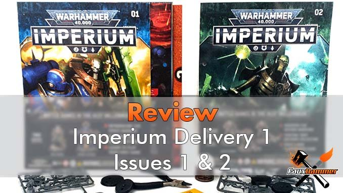 Warhammer Imperium Delivery 1, Issues 1 & 2 Review - Featured