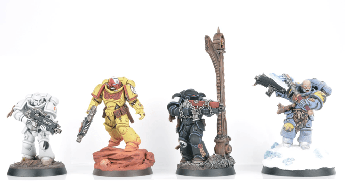 How to Paint Warhammer Miniatures with Brushstroke on Instagram