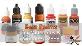 Best Paints for Miniatures & Wargames Models - Featured