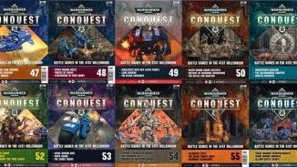 Warhammer Conquest Issues 47 – 56 Contents Confirmed