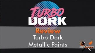 Turbo Dork Paint range review for Miniatures & Wargames Models