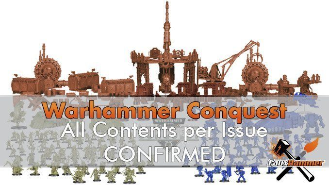 Warhammer Conquest All Issue Contents Confirmed