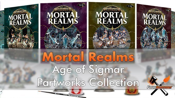 Mortal Realms Magazine - Warhammer: Age of Sigmar Partworks Collection