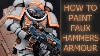 How to Paint FauxHammer Space Marines - 2019