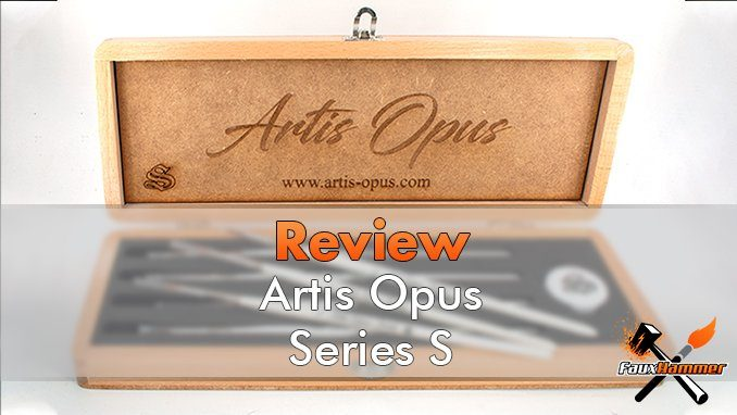 Artis Opus Series S Review for Miniatures - Featured