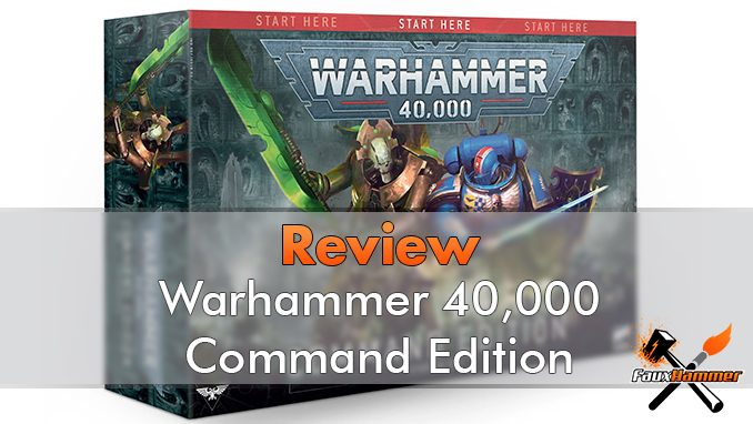 WarhWarhammer 40000 Command Edition Starter Set Review - Featuredammer 40000 Command Edition Starter Set Review - Featured