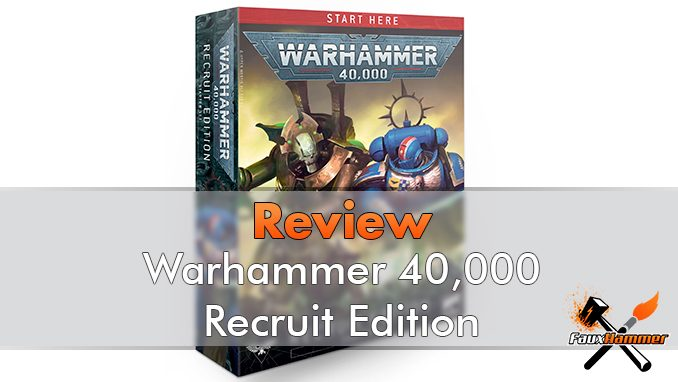 Warhammer 40000 Recruit Edition Starter Set Review - Featured