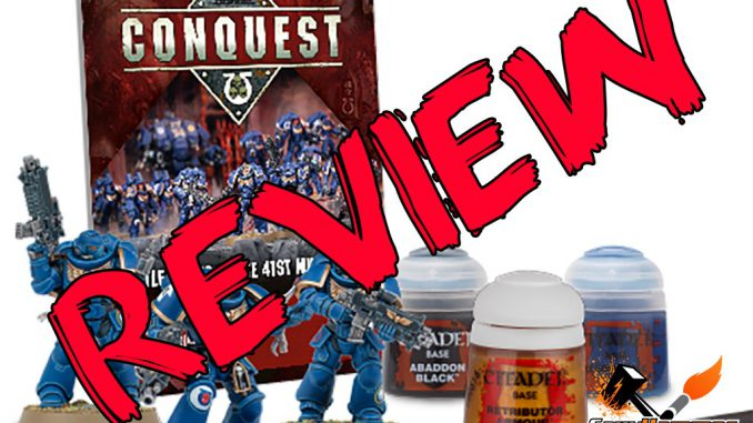 Warhammer Conquest Magazine Review - Issue 01